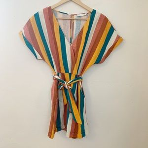 Lush Colorful Romper